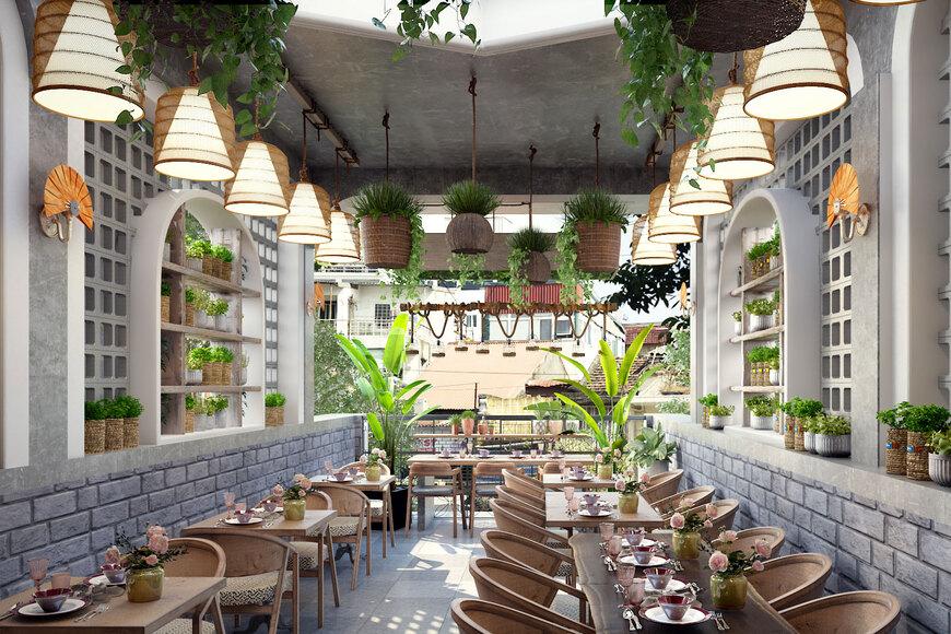 Long Thành Luxury- chuyên thiết kế nội thất nhà hàng uy tín, chuyên nghiệp