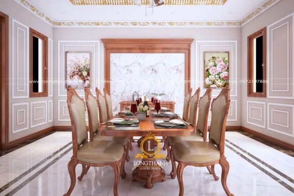 Dự án thiết kế nội thất tân cổ điển cho gia đình chị Hoài - TP Thanh Hóa