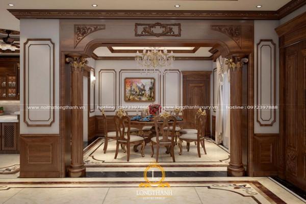 Dự án thiết kế nội thất tân cổ điển cho nhà anh Thiện – Vinhome Riveside Long Biên