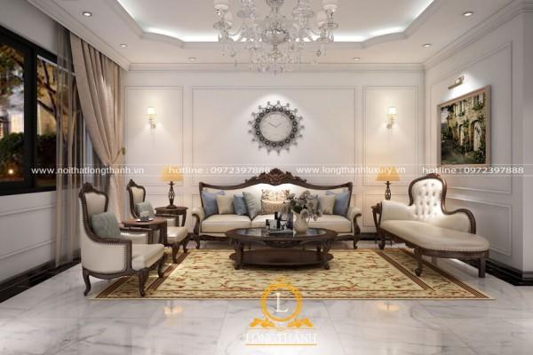 Mê mẩn trước thiết kế nội thất biệt thự Anh Tùng – Nam Định