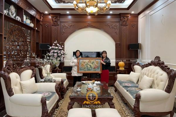 Dự án thi công nội thất nhà chị Thủy Thành phố Nam Định