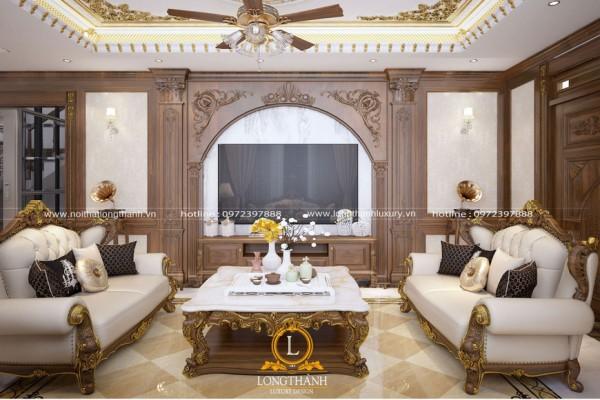 Quy trình thiết kế, thi công nội thất biệt thự của Long Thành Luxury