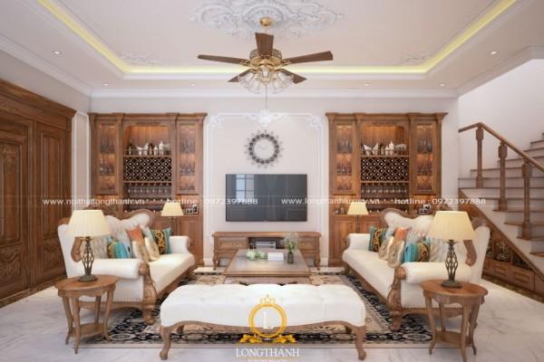 Tất tần tật những điều cần biết về thiết kế nội thất tân cổ điển