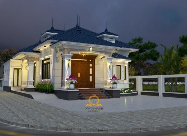 +11 mẫu thiết kế biệt thự 1 tầng đẹp nhất của Long Thành Luxury