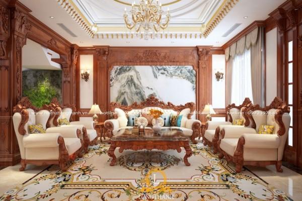 Những mẫu thiết kế nội thất tân cổ điển đẹp nổi tiếng nhất hiện nay