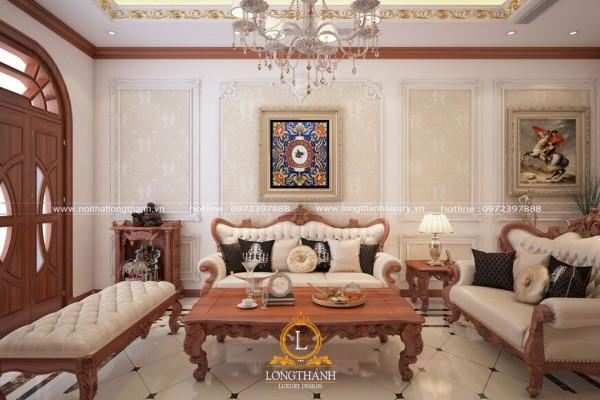 Top 3 mẫu thiết kế nội thất biệt thự tân cổ điển ấn tượng nhất