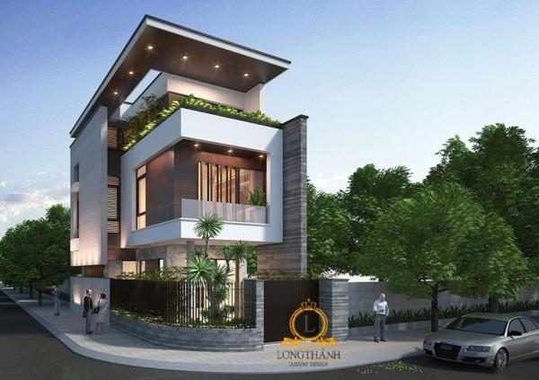 +10 mẫu thiết kế nhà phố phong cách hiện đại đẹp khó cưỡng